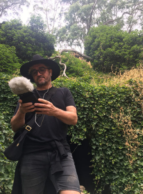 Jeremy Conlon - Location Sound Recordist - Left of Elephant Sound