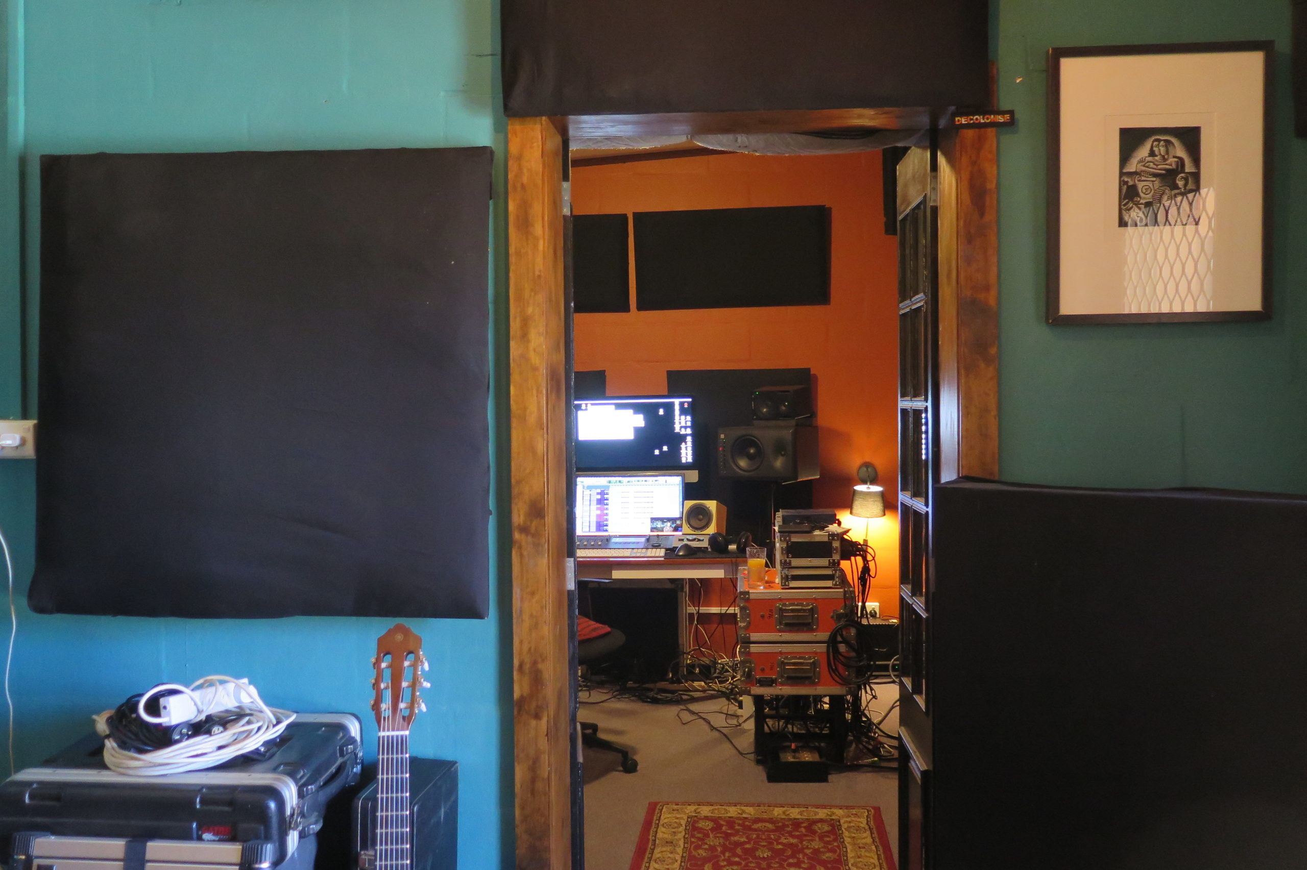 Basso Project Studio left Of Elephant Sound Alice Springs